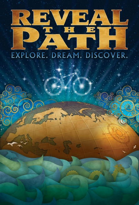Reveal the Path, poster